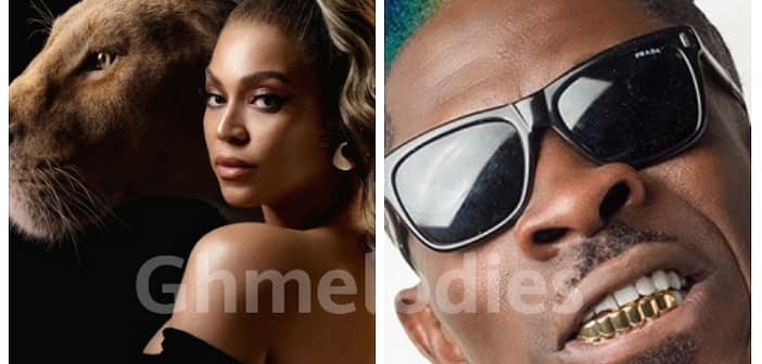 Beyonce Features Shatta Wale on her Lion King Album.